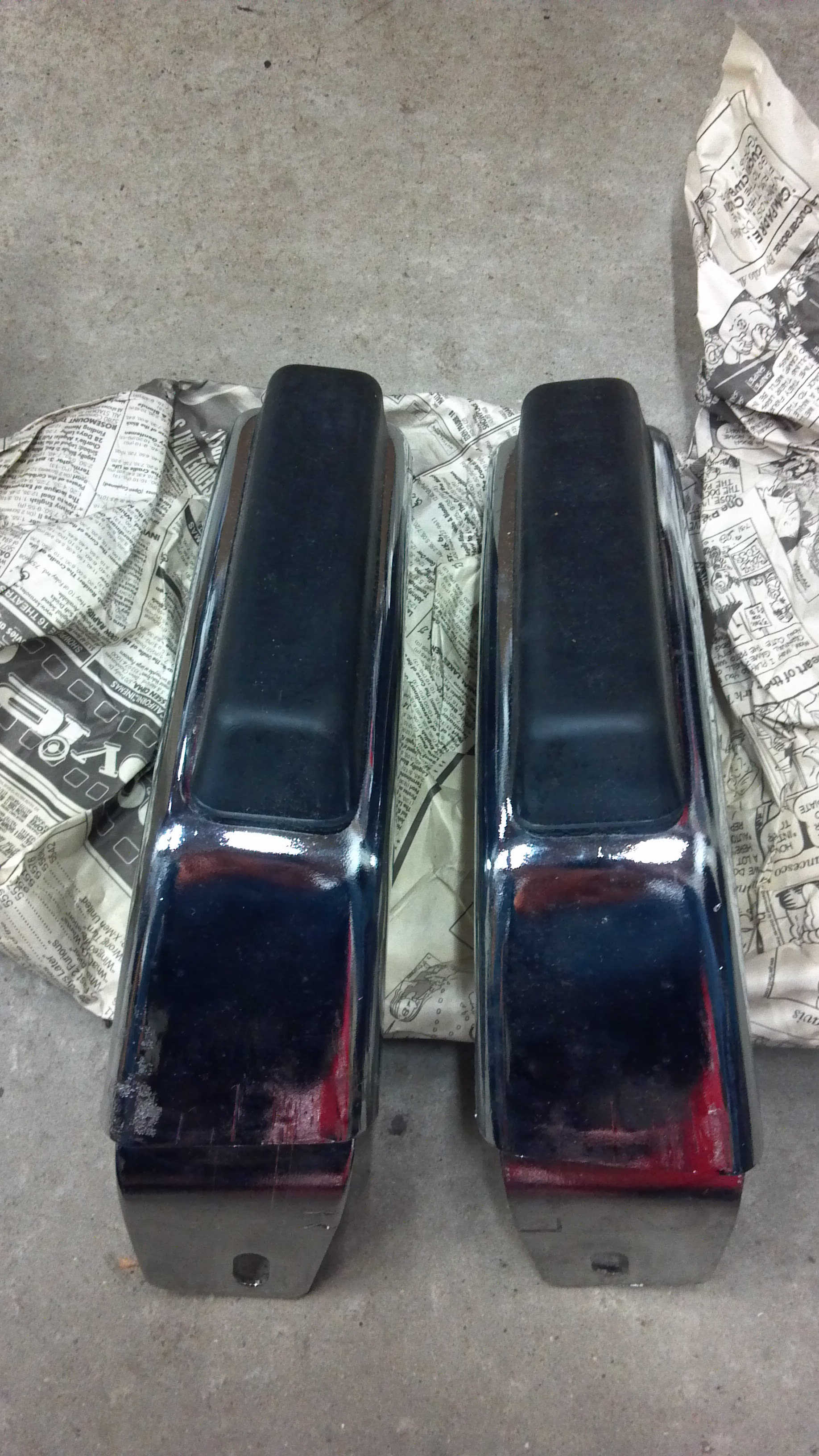 Looking for 1974 Laguna Bumper Guards front and rear Bumper_Guard